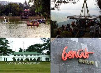 Popular Tourist Spots in Baguio City